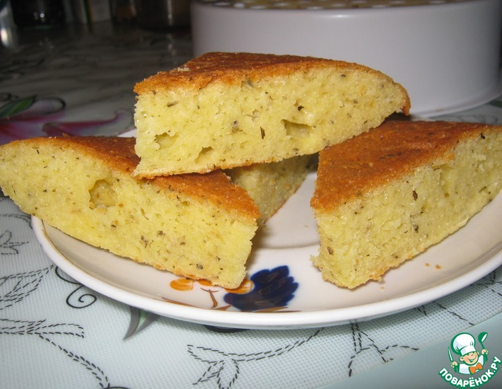 Рецепт: Сырный пирог в мультиварке