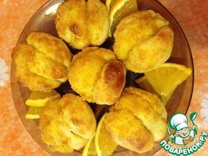 Апельсиновые булочки – кулинарный рецепт
