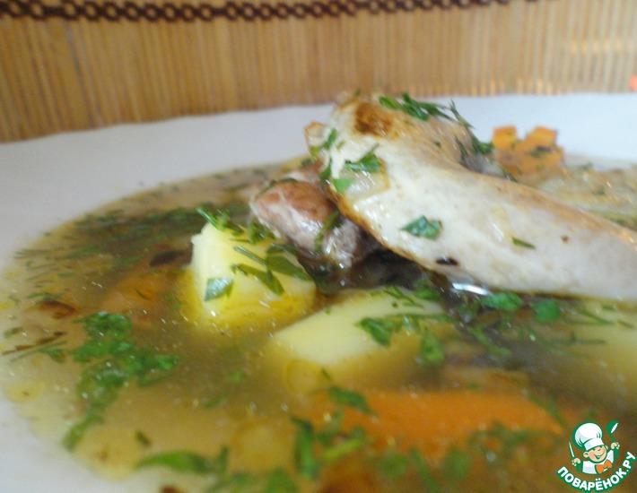 Рецепт: Быстрый и легкий перепелиный суп