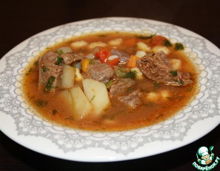 Рецепт: Суп Бограч