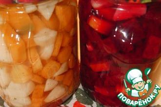 Рецепт: Морковь маринованная