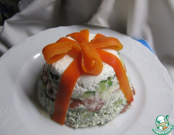 Рецепт: Салат Иматра слоеный
