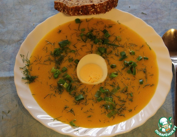 Рецепт: Суп-пюре Здоровье на вкус и цвет