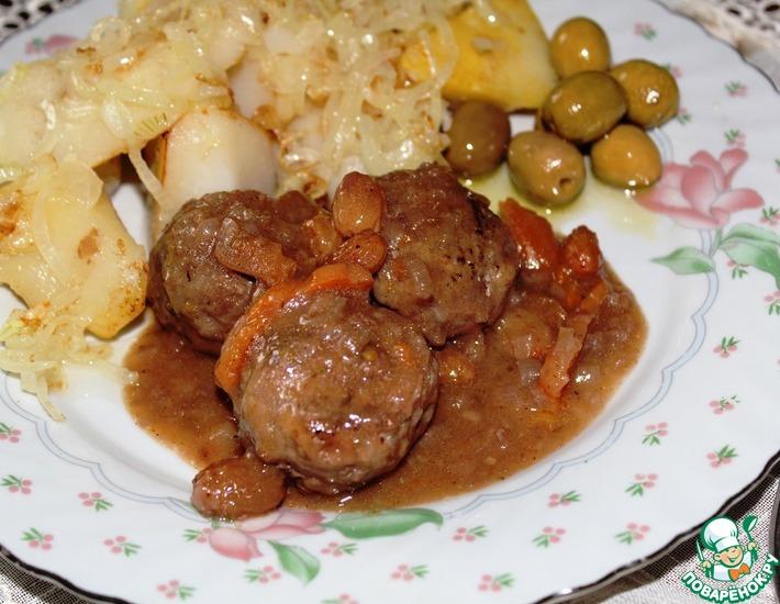 Рецепт: Бельгийские тефтели