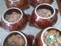 Тыквенный суп в горшочках ингредиенты