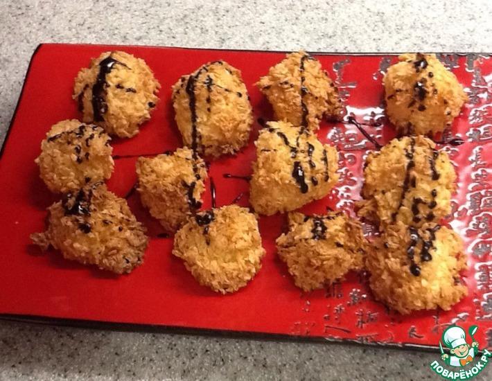 Рецепт: Кокосовое печенье Скалистые островки