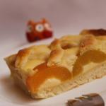 Абрикосовый пирог из творожного теста