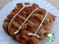 Полосатое мясо с брусничным соусом ингредиенты