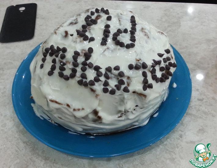 Рецепт: Торт с финиками