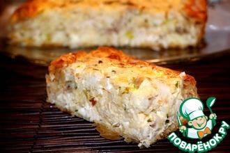 Рецепт: Греческий деревенский пирог с курицей