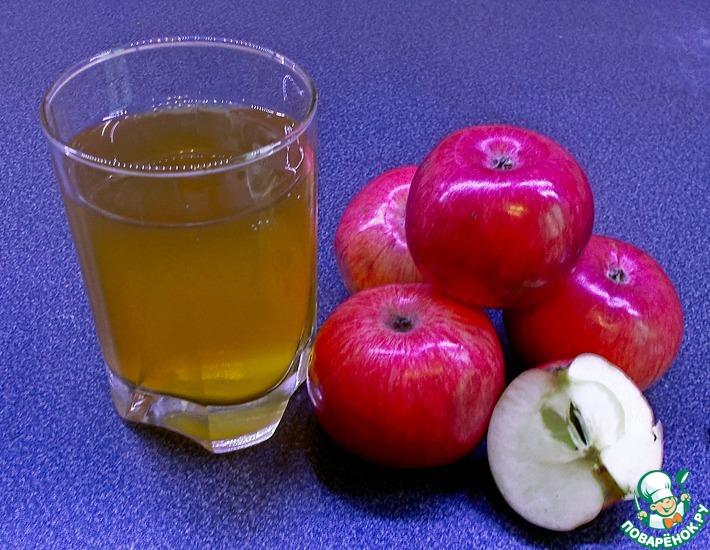 Рецепт: Яблочный сок