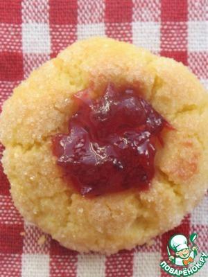 Рецепт Воздушное печенье с клюквой