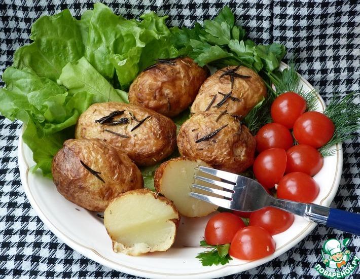Рецепт: Печеный картофель