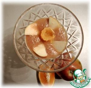 Рецепт Яблочно-банановый мусс