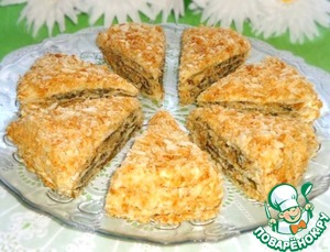 """Рецепт Закусочный торт """"Наполеон"""""""
