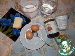 Эклеры с творожно-клюквенным кремом – кулинарный рецепт