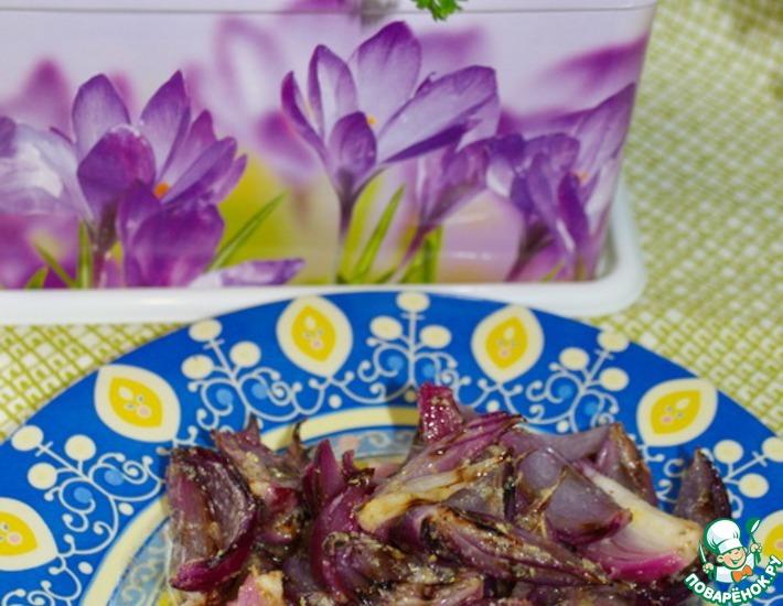 Рецепт: Салат из лука