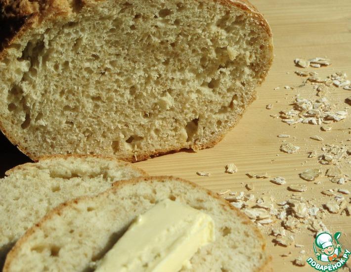 Рецепт: Финский овсяный хлеб
