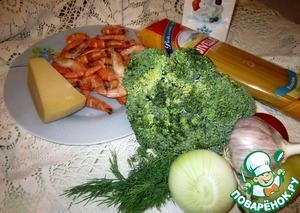 Салат-паста с креветками – кулинарный рецепт