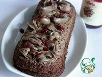 Кабачково-ореховый шоколадный кекс с брусничным соусом ингредиенты