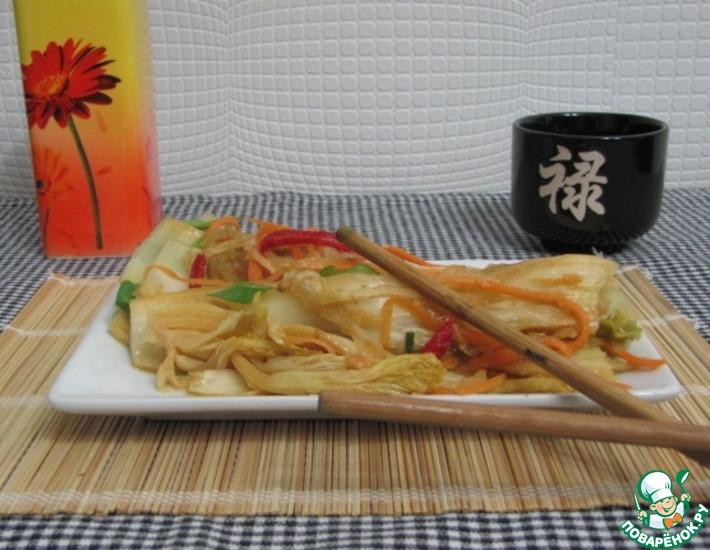 Рецепт: Кимчхи (кимчи) из пекинской капусты