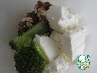Паста с курицей и соусом а-ля Песто из брокколи ингредиенты