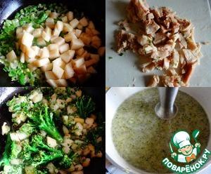 Суп из брокколи с грушей – кулинарный рецепт