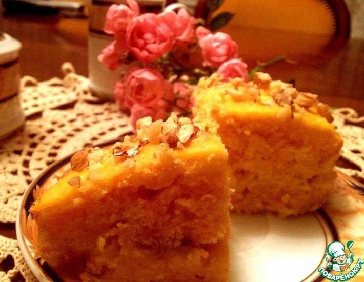 Рецепт: Тыквенные пирожные