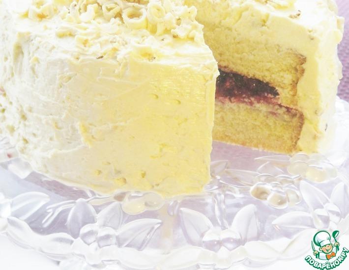 Рецепт: Торт Белоснежка