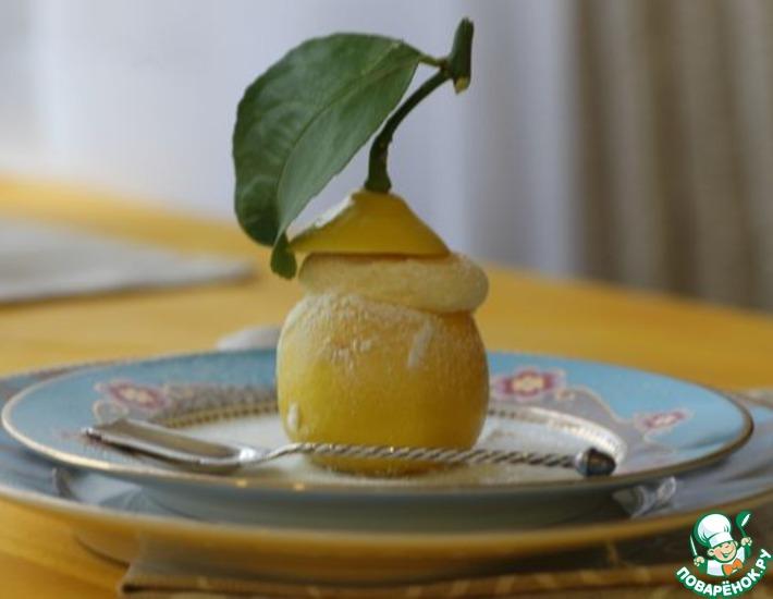 Рецепт: Лимонное суфле от Марты Стюарт