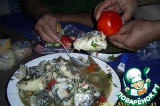 Рецепт: Рыбацкая уха по-казахстански