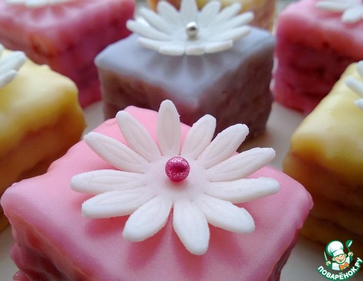 Рецепт: Пирожное Лолита