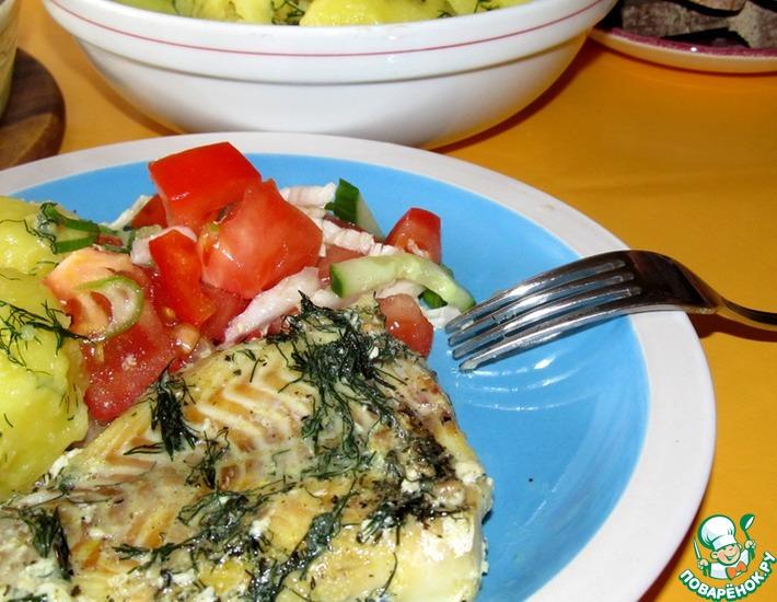 Рецепт: Рыба в пикантном соусе