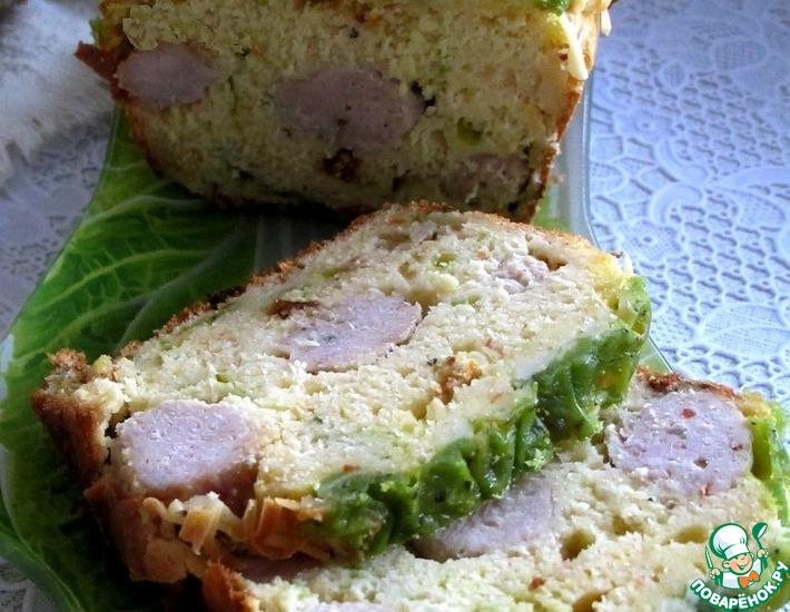 Рецепт: Быстрый хлеб с сыром и фрикадельками