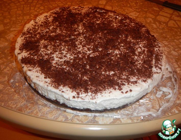 """Торт """"Сливки и Шоколад"""" – кулинарный рецепт"""