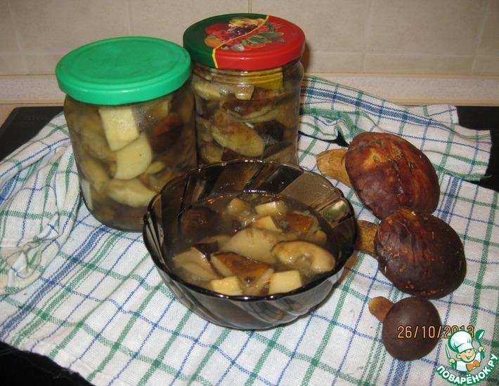 Рецепт: Польские грибы маринованные