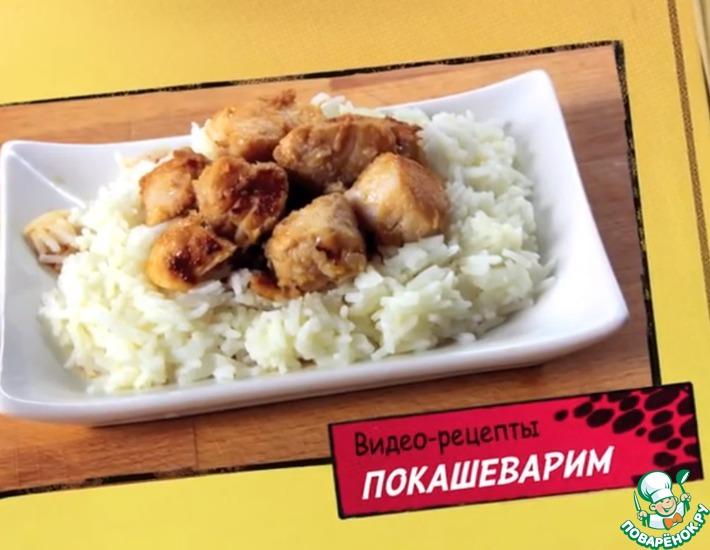 Рецепт: Белая рыба в имбирном маринаде