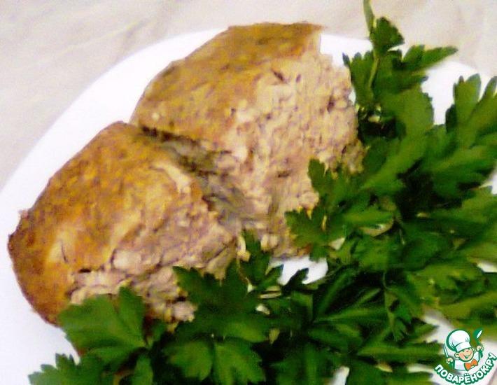 Рецепт: Куриное суфле