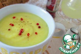 Рецепт: Суп-пюре с корневым сельдереем и яблоком