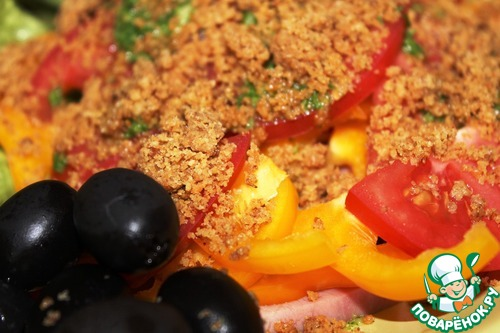 """Салат """"Кондэ"""" – кулинарный рецепт"""