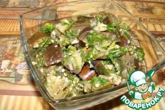 Рецепт: Баклажаны как грибы