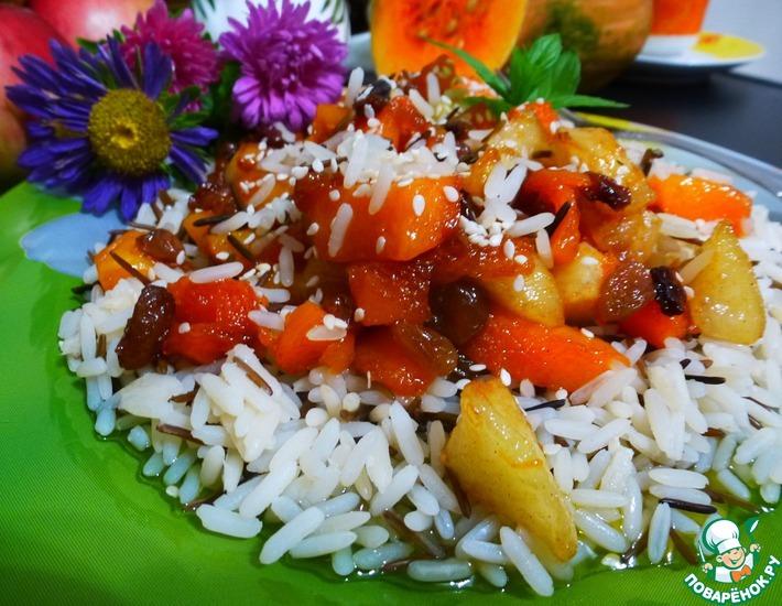 Рецепт: Каша из пропаренного и дикого риса