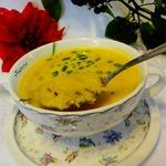 Суп из топинамбура с диким рисом