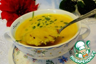 Рецепт: Суп из топинамбура с диким рисом