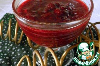 Рецепт: Варенье из кизила с ягодами (без косточек)