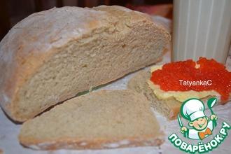 Рецепт: Кисломолочный хлеб с семолиной