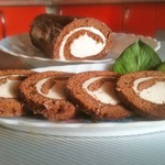 Шоколадный рулет со вкусом Baileys