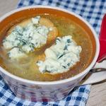 Луковый суп с рисом