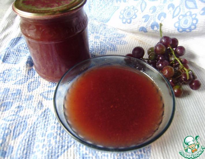 Рецепт: Виноградное варенье Проще нет
