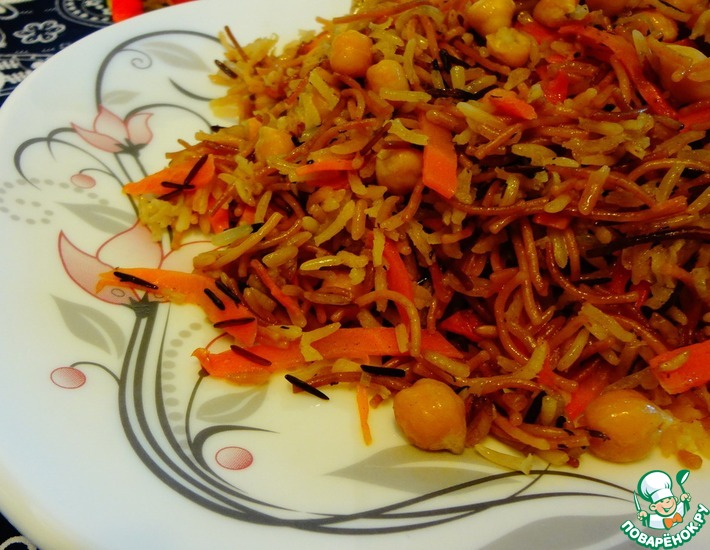 Рецепт: Турецкий пилав с диким рисом